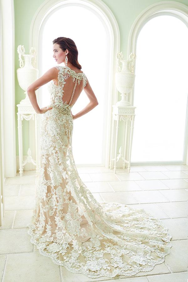 Sophia Tolli Wedding dress Y21656 sample sale Fellini