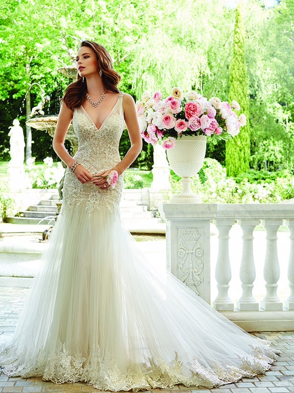 Y21665 Sophia tolli Sample Sale