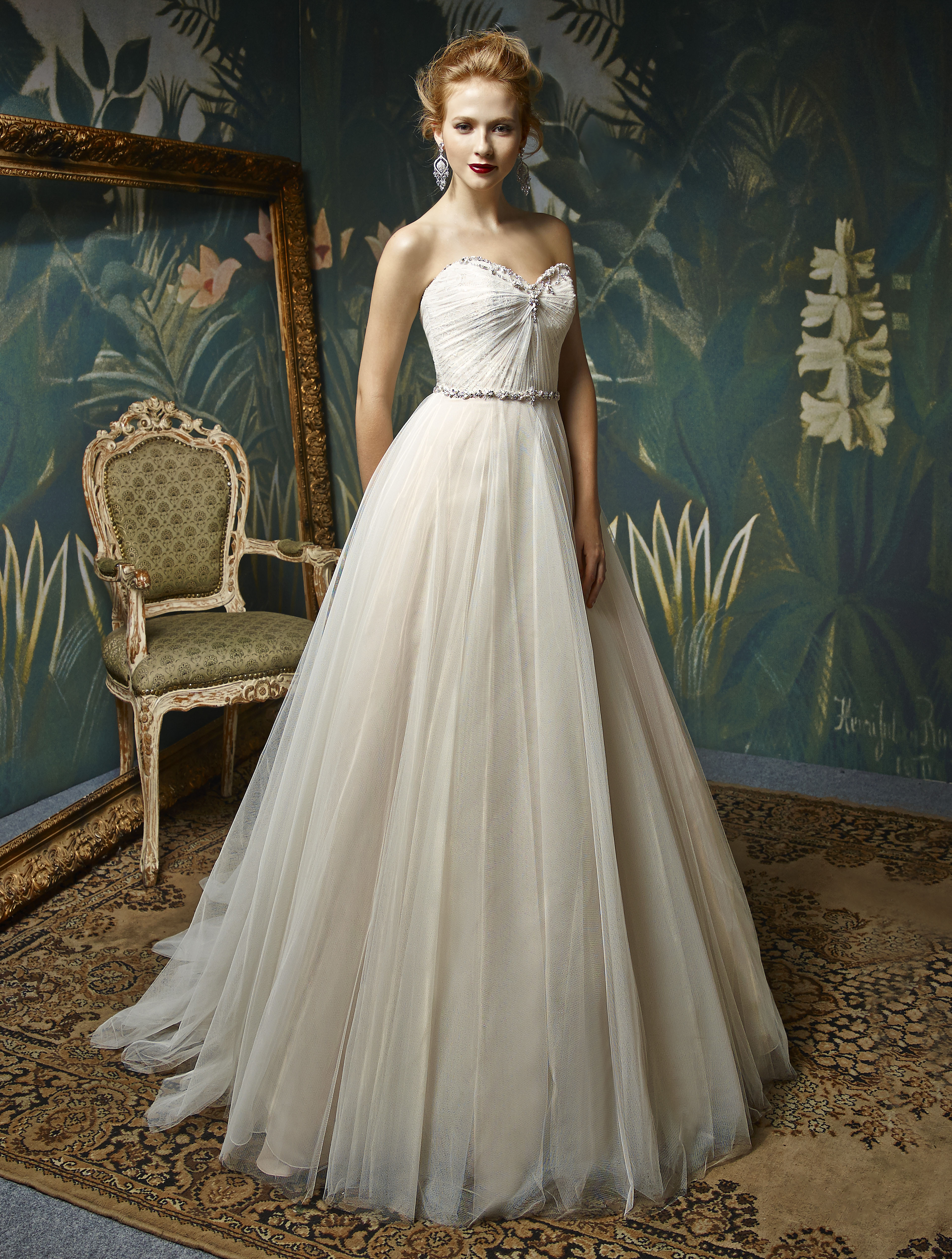 Enzoani Wedding gown. A ine bridal gown