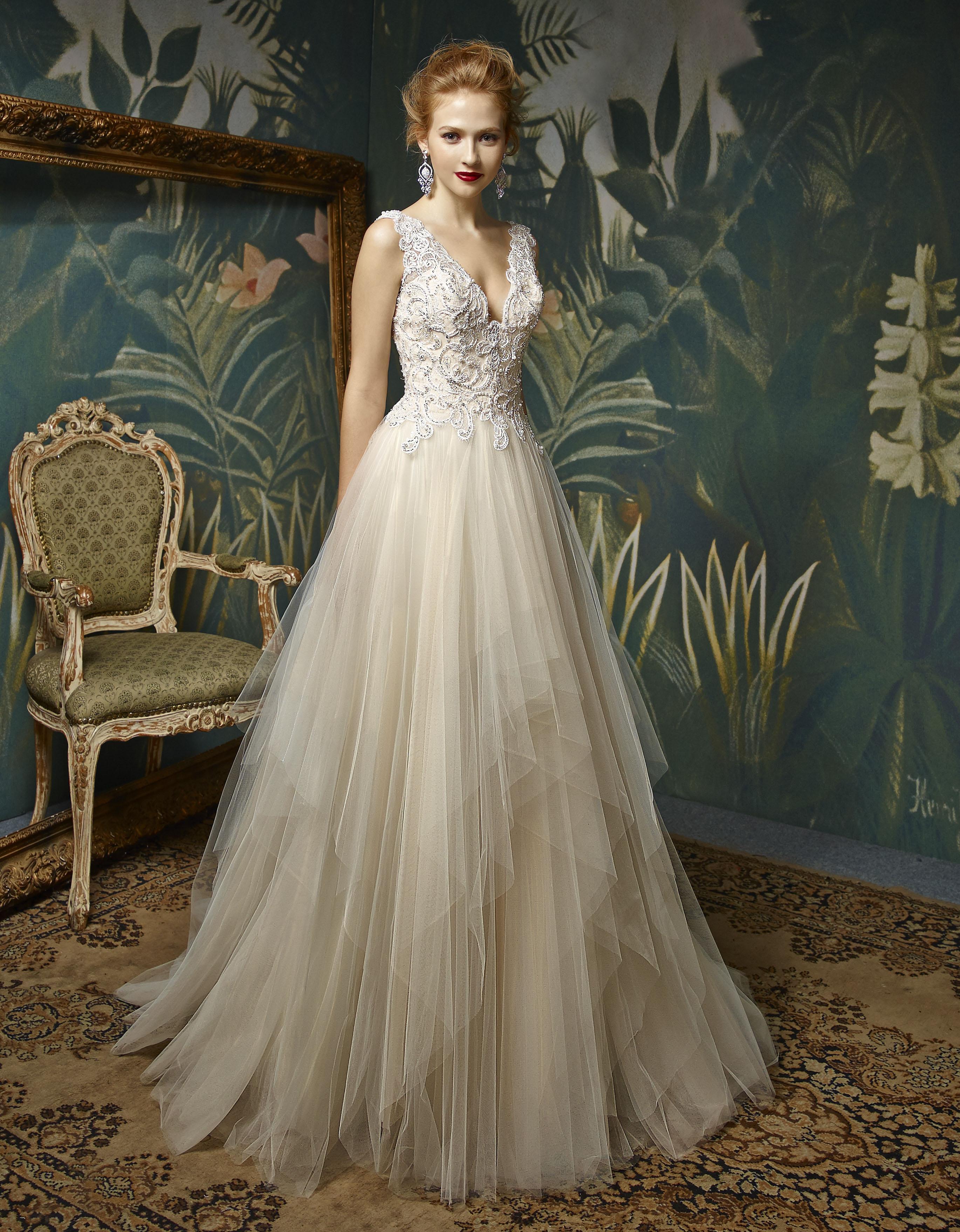 Enzoani Blue Josetta Wedding Gown A Line