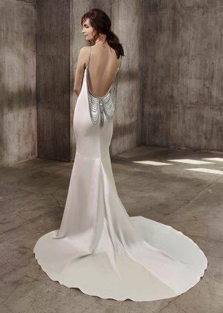 Badgley Mischka Bell wedding dress Aileen Sample Sale