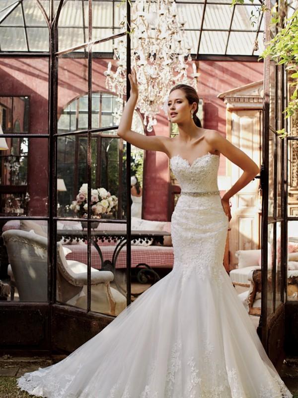 Sophia Tolli Wedding Dress Sample Sale Y21376 Begonia