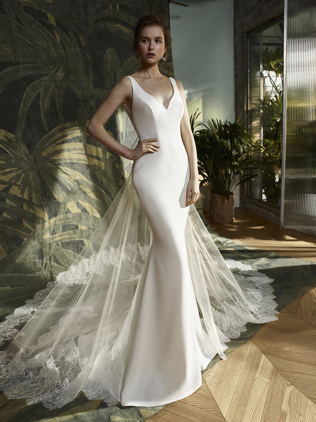 Enzoani Blue Wedding Dress