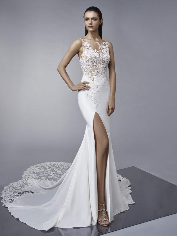 Enzoani Wedding Dress Margo light wedding dress sexy wedding dress
