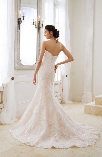 Sophia Tolli Mermaid Wedding Dress Strapless Mermaid Wedding Dress