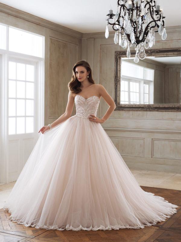 Sophia Tolli Wedding Dress, Ball Gown Wedding Dress, Beaded ball Gown