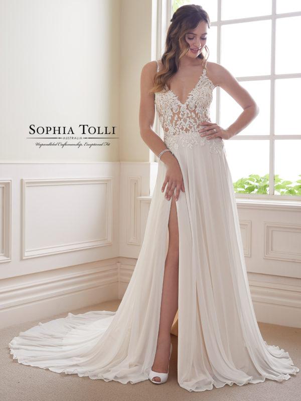 Sophia Tolli Wedding Dress Y21823