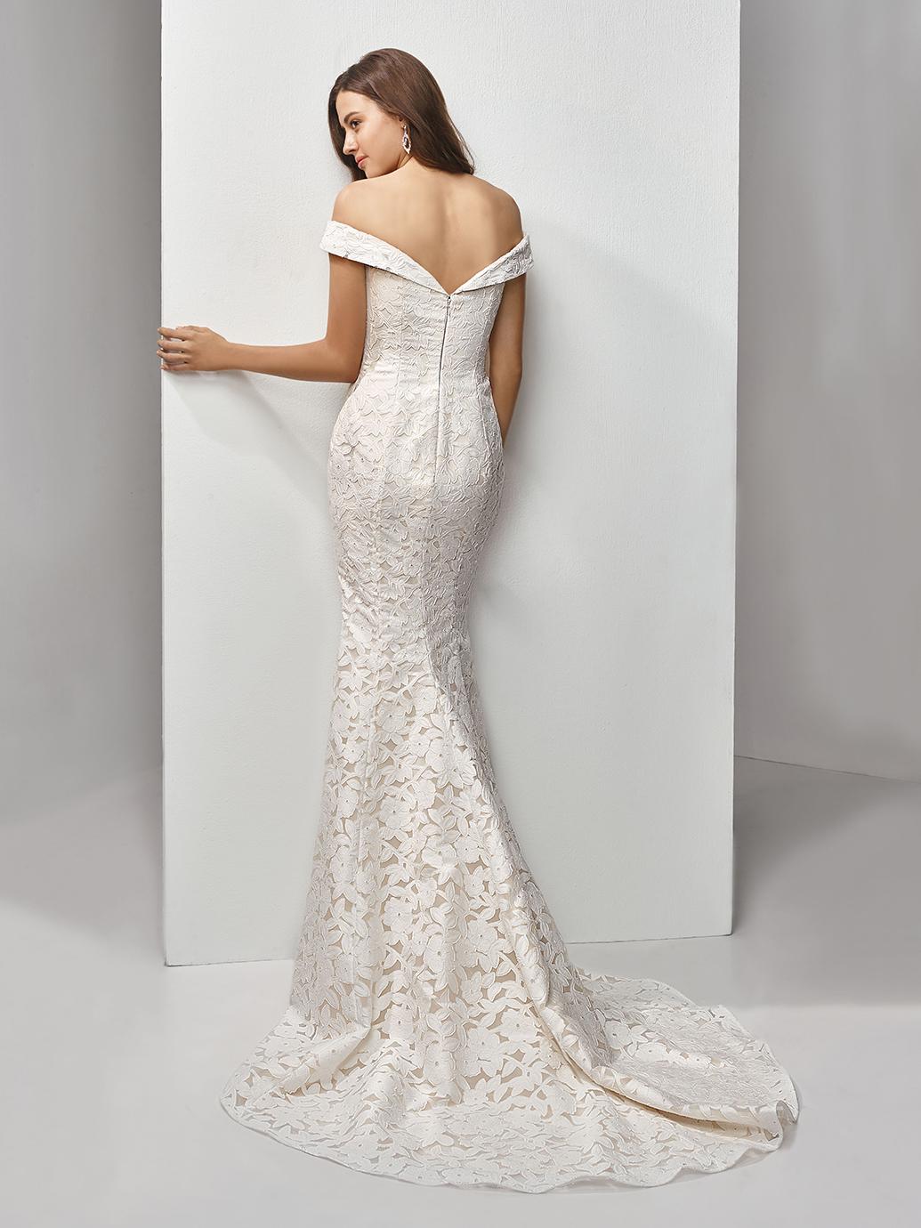 Enzoani Beautiful_BT19-27_off shoulder wedding dress